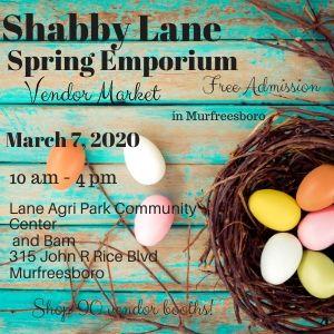shabby lane spring emporium vendor market