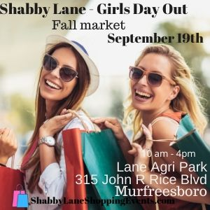 Shabby Lane Girls Day Out Fall Market