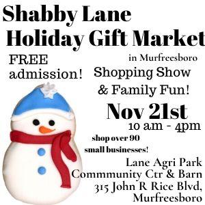 Shabby Lane Holiday Gift Market